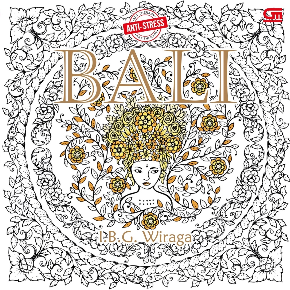 Bali And Nirvana Coloring Bookswere Published By Gramedia Pustaka Utama